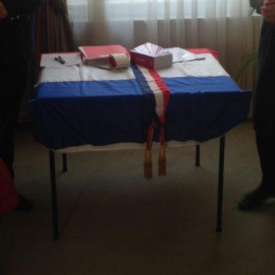 7 avril 2015 : cérémonie d'accueil dans la citoyenneté française