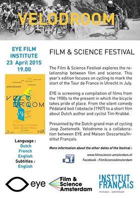 Vélodroom : Fim & Science Festival, Eye Amsterdam