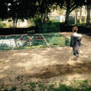 Moment de recueillement au Wertheimpark 5 mai 2015
