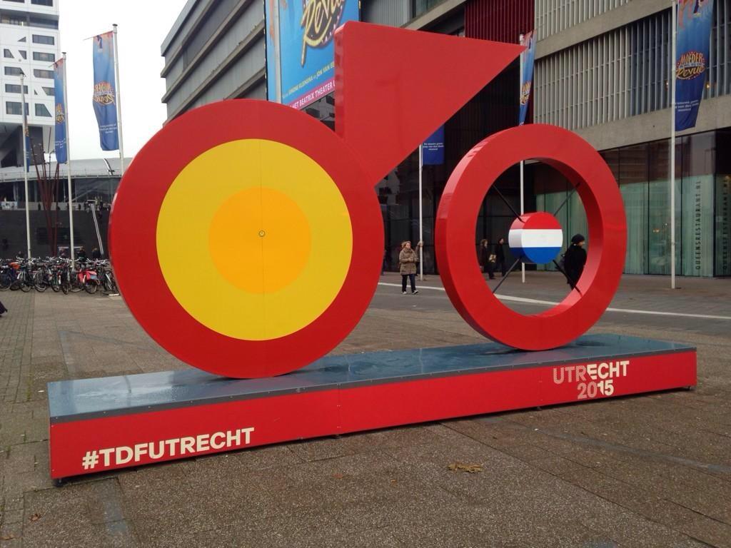 Le tour de France aux Pays-Bas rendez-vous à Utrecht
