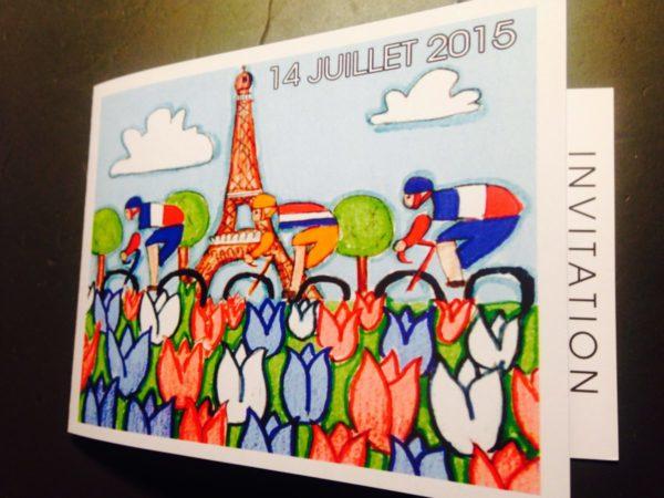 Réception du 14 juillet 2015, résidence de France à La Haye