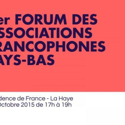 1er Forum des associations : mon initiative pour le tissu associatif des Pays-Bas
