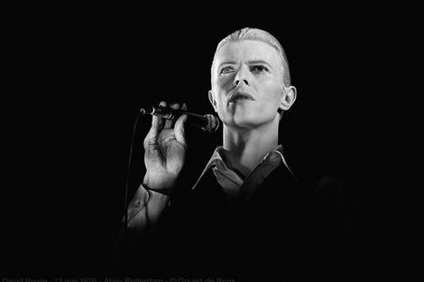 David Bowie à Amsterdam