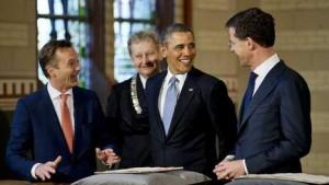Obama, Rijksmuseum 2014