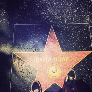David Bowie Walk of Fame