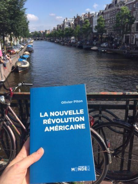 """Avec Olivier Piton, la """"nouvelle révolution américaine"""" fait étape à Amsterdam."""