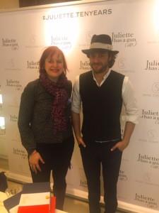 Avec Romano Ricci