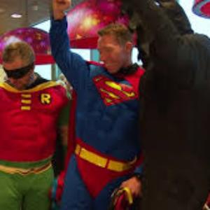 Batman, Superman et Spiderman à l'assaut d'Amsterdam