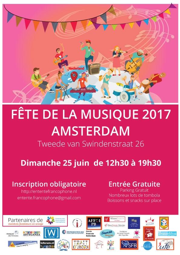 Coup de projecteur sur la Fête de la musique 2017 et l'Entente Francophone !
