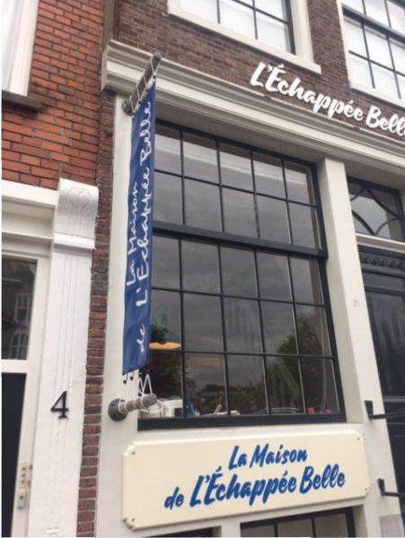La maison de l'Echappée Belle : le nouveau coin de France à Amsterdam !