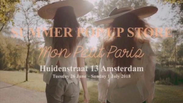 Amsterdam : capitale éphémère de la mode française avec Mon Petit Paris