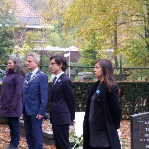 11 novembre 2020 aux Pays-Bas : hommage sobre à Soesterberg