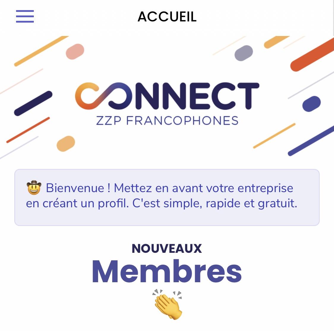Enfin une app vraiment au service des solo-entrepreneurs zzp francophones des Pays-Bas