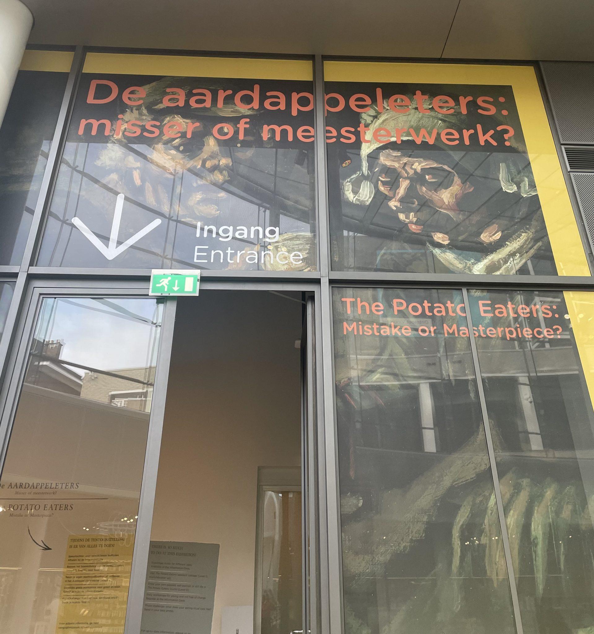You are currently viewing Vincent Van Gogh a la patate ! Nouvelle exposition autour des mangeurs de pommes de terre à Amsterdam.